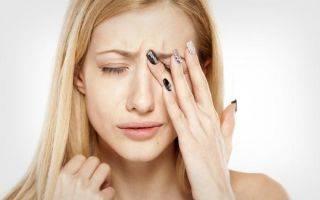 Почему дергается глаз болит голова