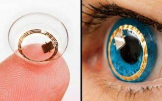Созданы контактные линзы с функцией зума. как они работают?