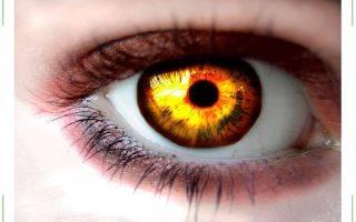 Антрацитовый цвет глаз это какой