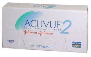 Acuvue – астигматические линзы