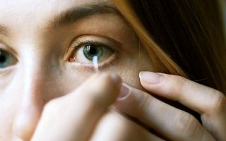 Порвалась контактная линза. что делать?