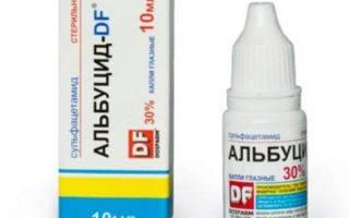 Действие препарата альбуцид