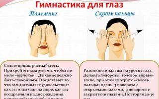 Гимнастика для глаз: полный комплекс упражнений жданова