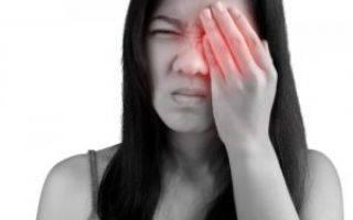 Болела голова и покраснел глаз и болит