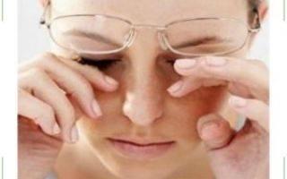 Слезится глаз болит правая часть головы
