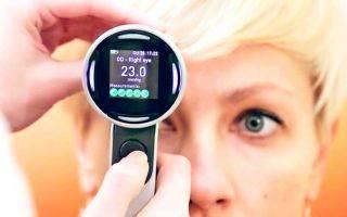 Нормы глазного давления у молодых и взрослых людей