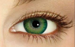 Другими глазами: макияж с цветными линзами