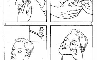 Как закладывать мазь в глаза