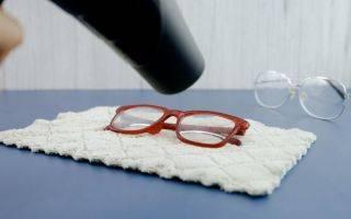 Что понадобится для замены линзы в очках