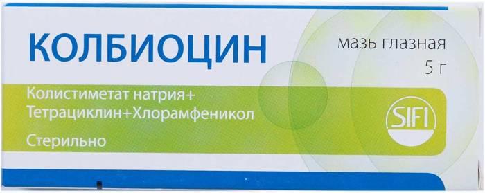 Колбиоцин (мазь глазная): цена, инструкция, отзывы, аналоги