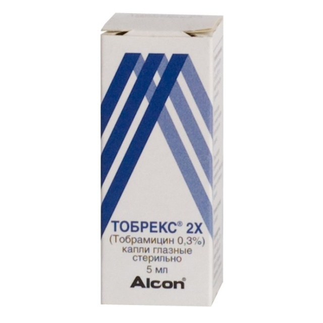 Тобрекс® (tobrex®)