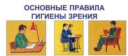 Правила гигиены зрения для детей и взрослых, уход за глазами