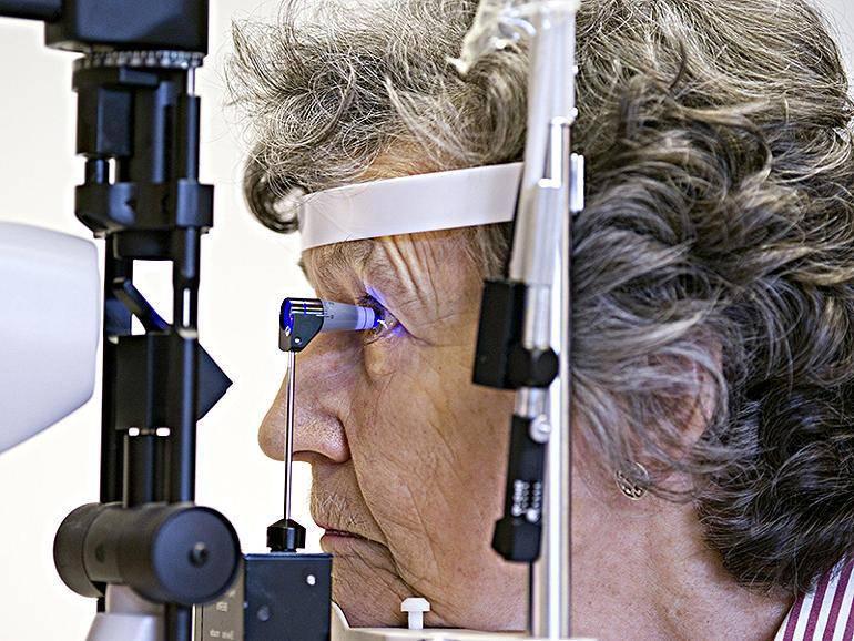 Тонометрия глаза: норма, методы тонометрии
