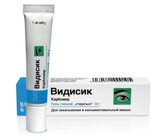 Глазные капли видисик: отзывы про гель, инструкция по применению