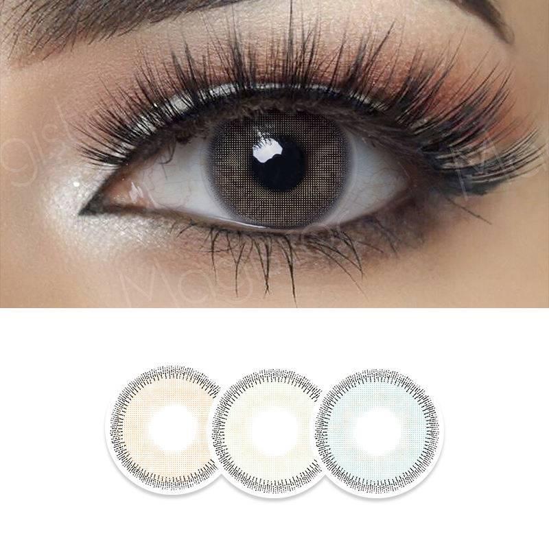 Как подобрать цветные линзы на карие глаза?