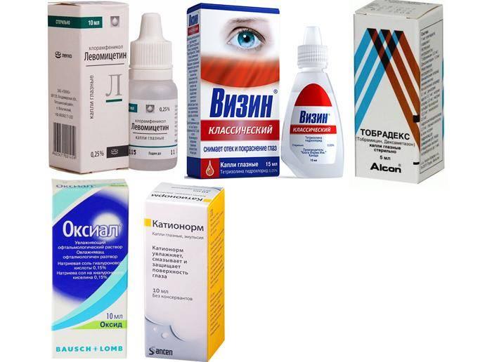 Эффективные капли при кровоизлиянии в глаз: список наиболее действенных