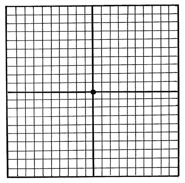 Сетка для проверки зрения. онлайн тест амслера на выявление макулярной дистрофии сетчатки глаза. как проверить зрение при помощи сетки амслера