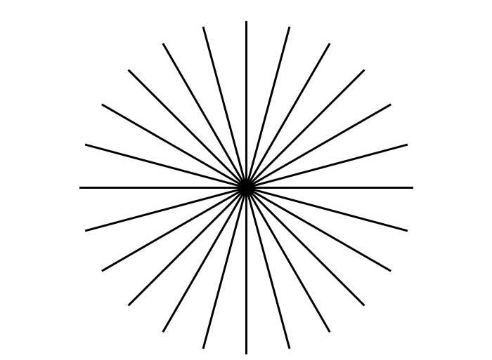 "Тест на астигматизм: виды тестов, проверка на дому - ""здоровое око"""