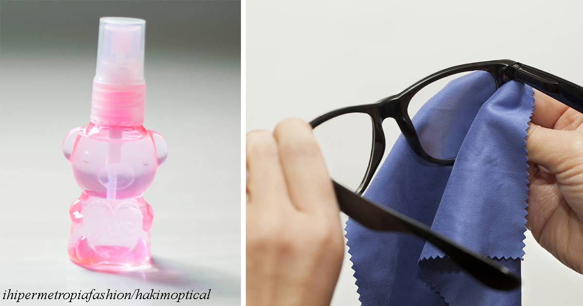 Как почистить очки в домашних условиях ? чем протереть линзы