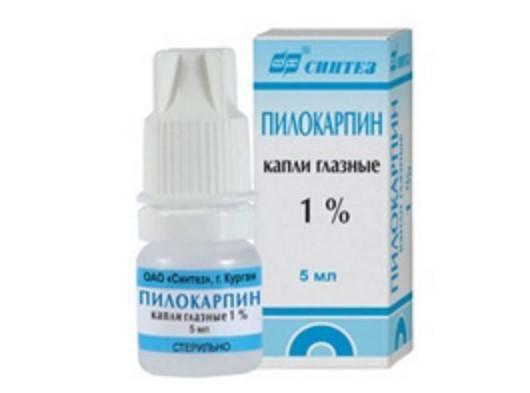 Глазные капли пилокарпин: состав, показания, инструкция по применению
