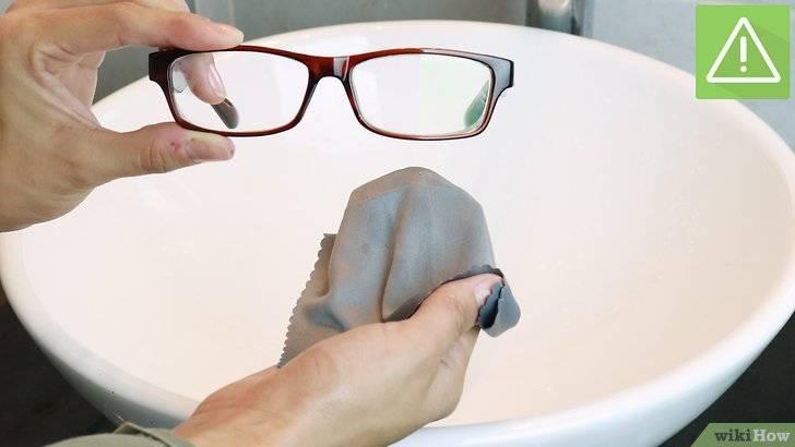 Как почистить очки? общие принципы. инструменты и средства. особенности чистки сильных загрязнений. советы.