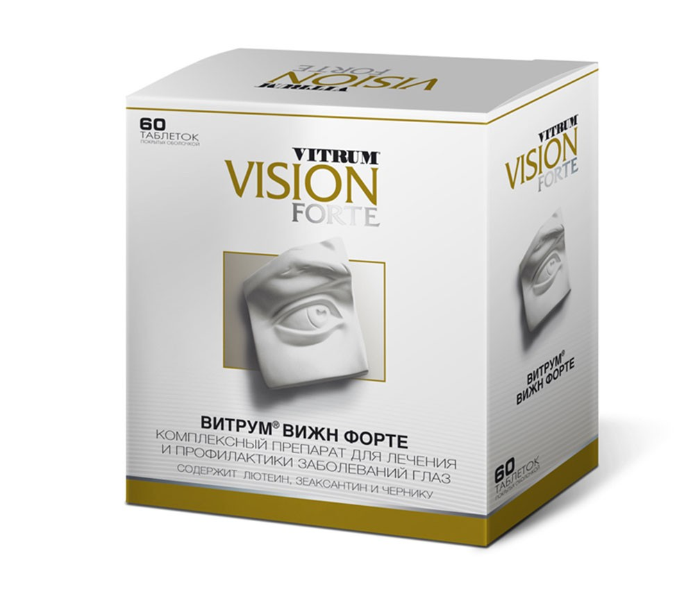 Витрум вижн витамины для глаз - инструкция, цена, отзывы