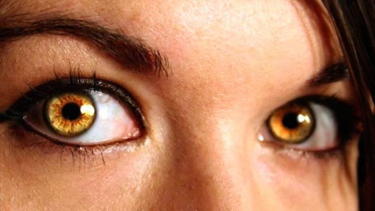 Зелено-карий цвет глаз