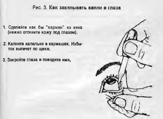 Как правильно закапывать капли в глаза. сайт «московская офтальмология»
