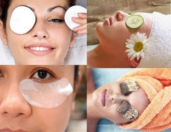 Маски для кожи вокруг глаз в домашних условиях от отеков, синяков, морщин и для разных возрастов