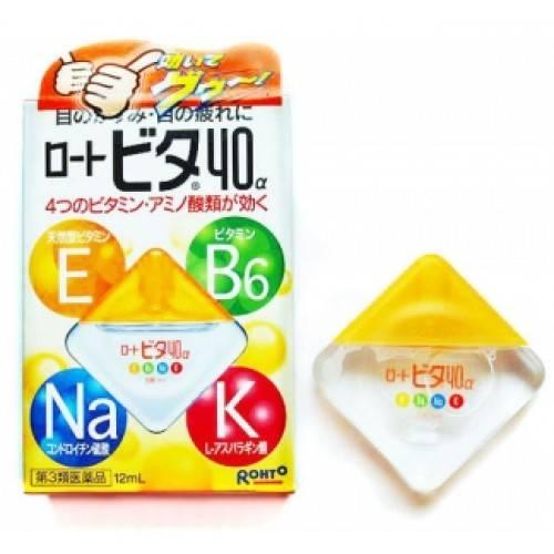 Японские глазные капли с витаминами: отзывы