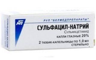 Сульфацил натрия - аналоги и заменители последнего поколения