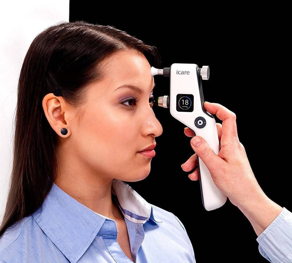 Как измеряют глазное давление? бесконтактный офтальмологический тонометр