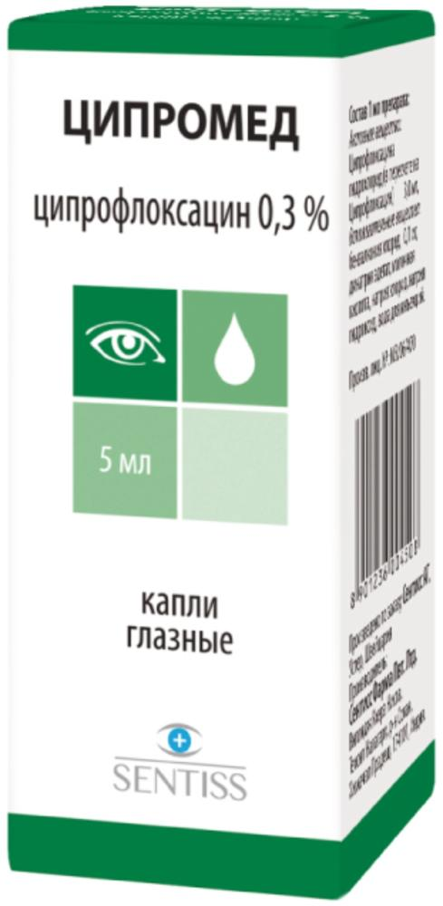 Ципромед глазные капли: инструкция по применению и для чего они нужны, цена, отзывы, аналоги