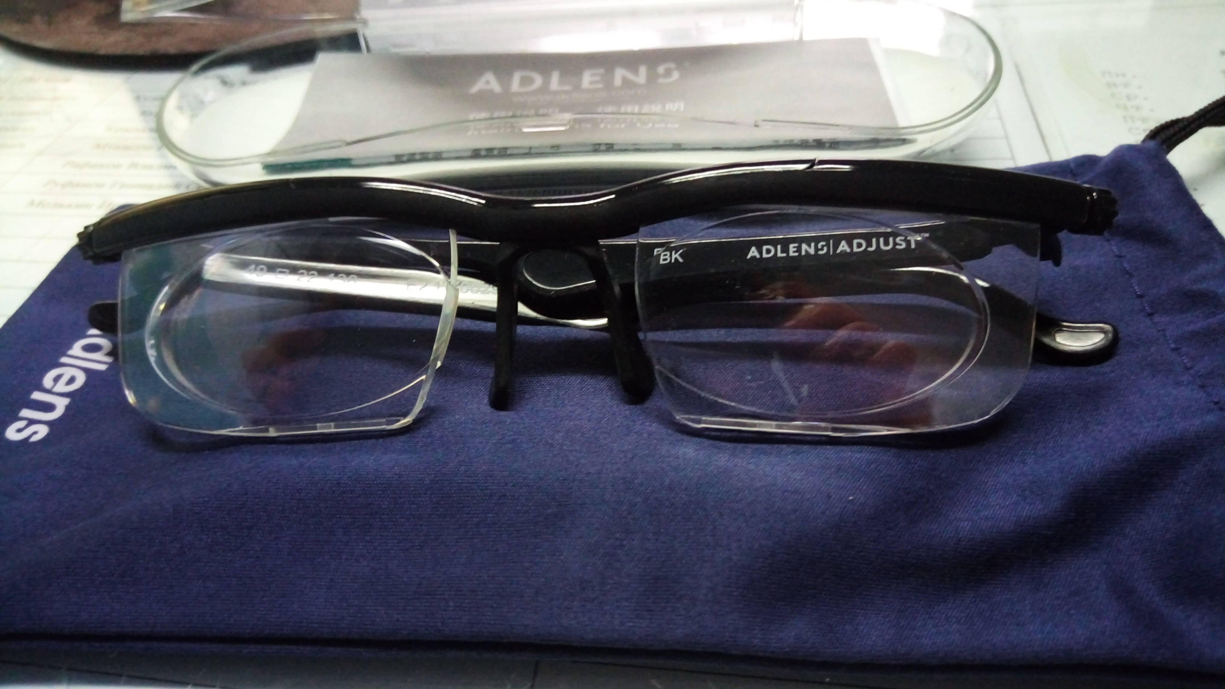 Регулируемые очки adlens — отзывы. негативные, нейтральные и положительные отзывы