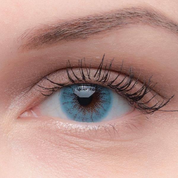 Как подобрать цветные линзы в зависимости от своего цвета глаз