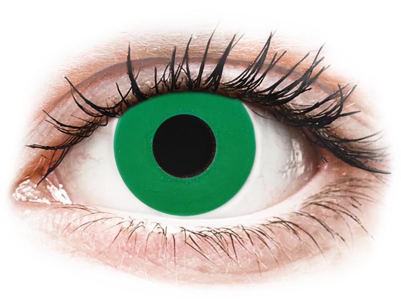 Цветные линзы для зрения без диоптрий, бывают ли, сколько стоят, отзывы, портят, однодневные