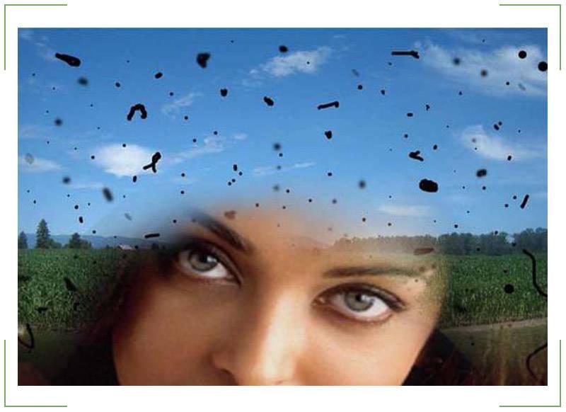 Рябь в глазах, причины, диагностика проблемы. лечение ряби в глазах