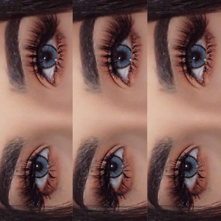 Цветные линзы для карих глаз - какой цвет лучше подойдет для перекрывания натурального оттенка с фото до и после