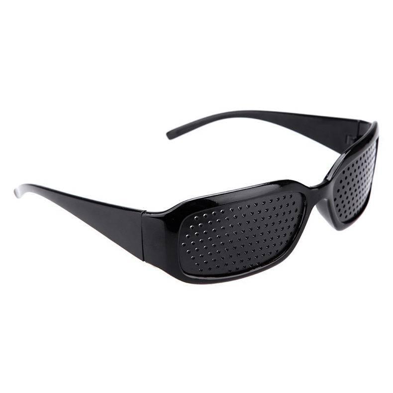 Очки с дырочками для улучшения зрения: черные, корректирующие, помогают ли