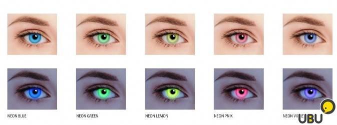 Светящиеся линзы для глаз: особенности изделий - здоровое око