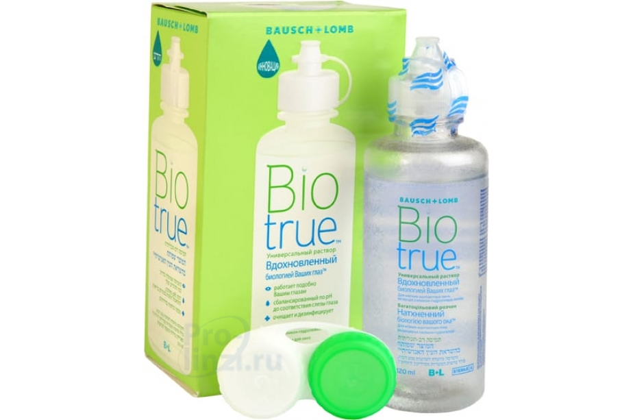 Biotrue – раствор для линз, обзор, цена, отзывы