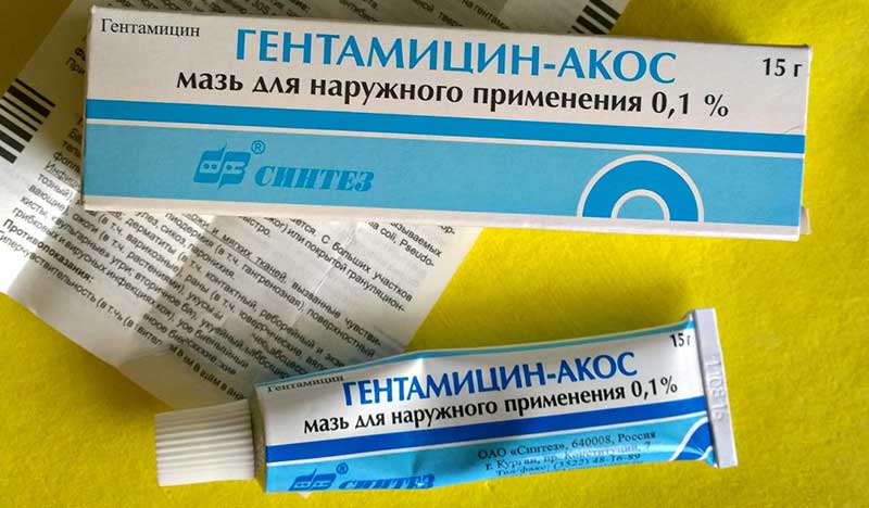 Купить мазь гентамициновая туба 0,1% 15г цена от 44руб в аптеках москвы дешево, инструкция по применению, состав, аналоги, отзывы