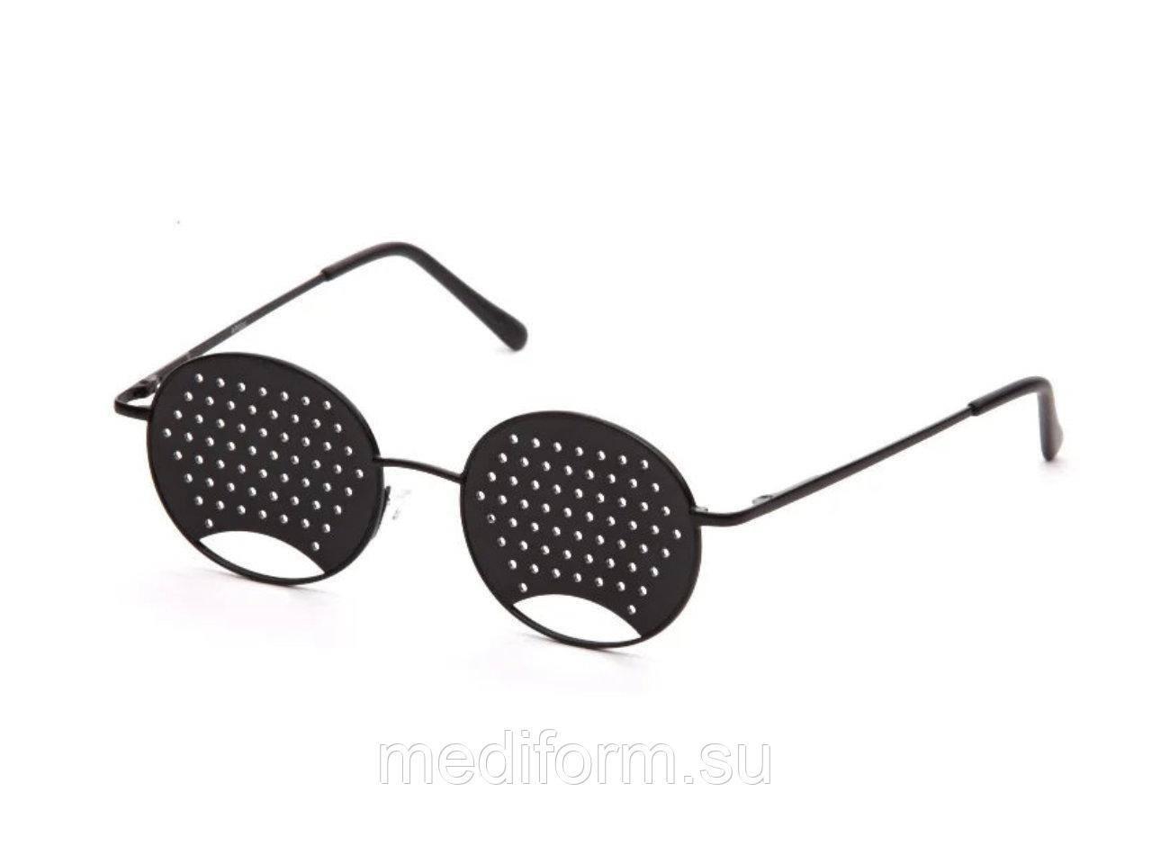 Очки с дырочками для улучшения зрения: отзывы врачей, инструкция