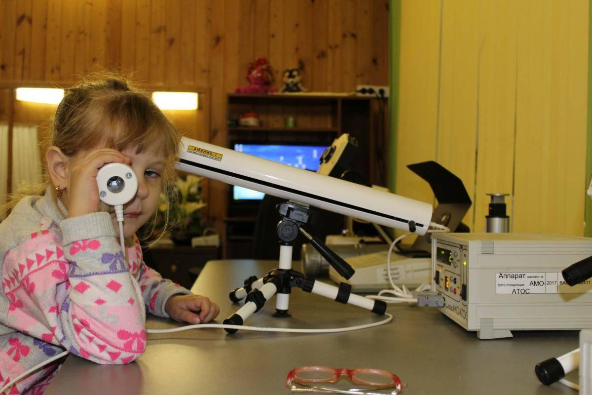 Комплексный подход в лечении амблиопии у детей разного возраста