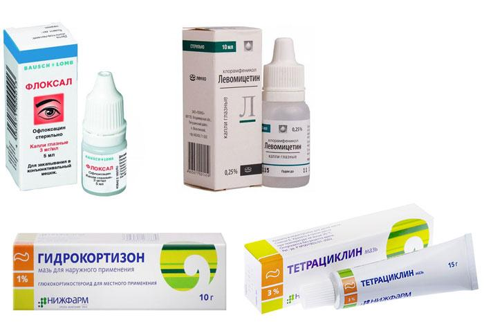 Мазь от ячменя на глазу: чем помазать верхнее и нижнее веко взрослому, список самых эффективных средств для лечения патологии
