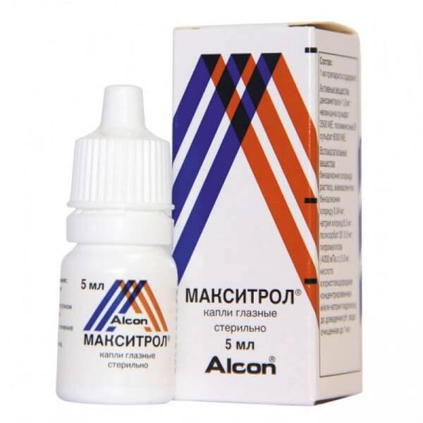 Фармакологические свойства капель максидекс