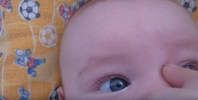 Как правильно делать массаж слезного канала новорожденному малышу