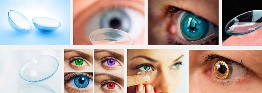 Косметические линзы для скрытия дефектов глаза