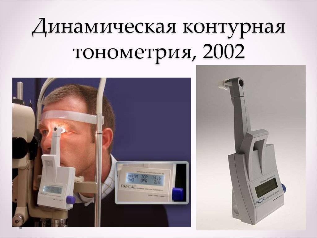 Тонометрия глаза - способы измерения внутриглазного давления