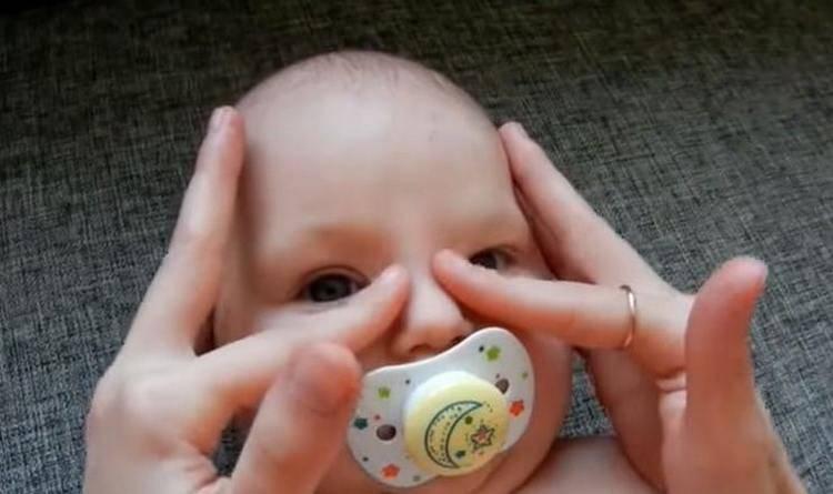 Массаж слёзного канала у новорожденных: 7-ступенчатый алгоритм